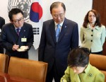 PHOTO: In this undated photo released by Yonhap News Agency, South Korean Presidents spokesman Yoon Chang-jung is seen at the presidential Blue House in Seoul, South Korea. President Park Geun-hyes office says she has fired her chief spokesman after a ""