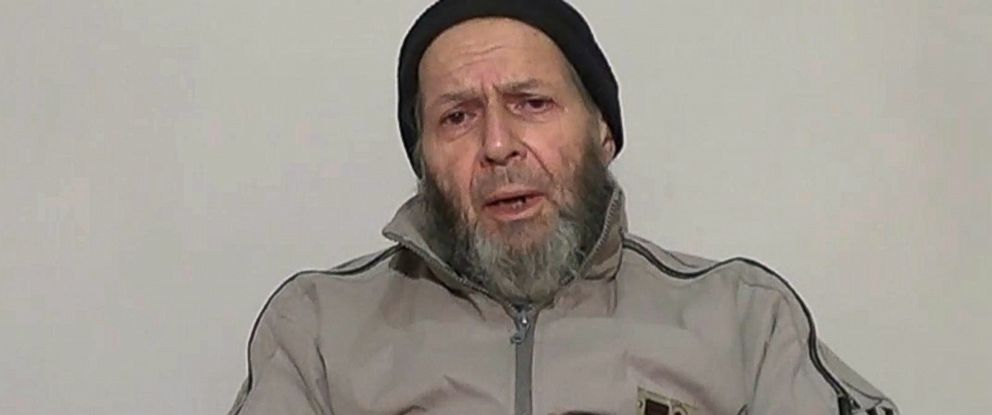 PHOTO: Warren Weinstein is shown in a still from video released anonymously to reporters in Pakistan, Dec. 26, 2013.