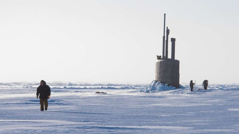 Regular US Navy Arctic submarine exercise takes on new importance