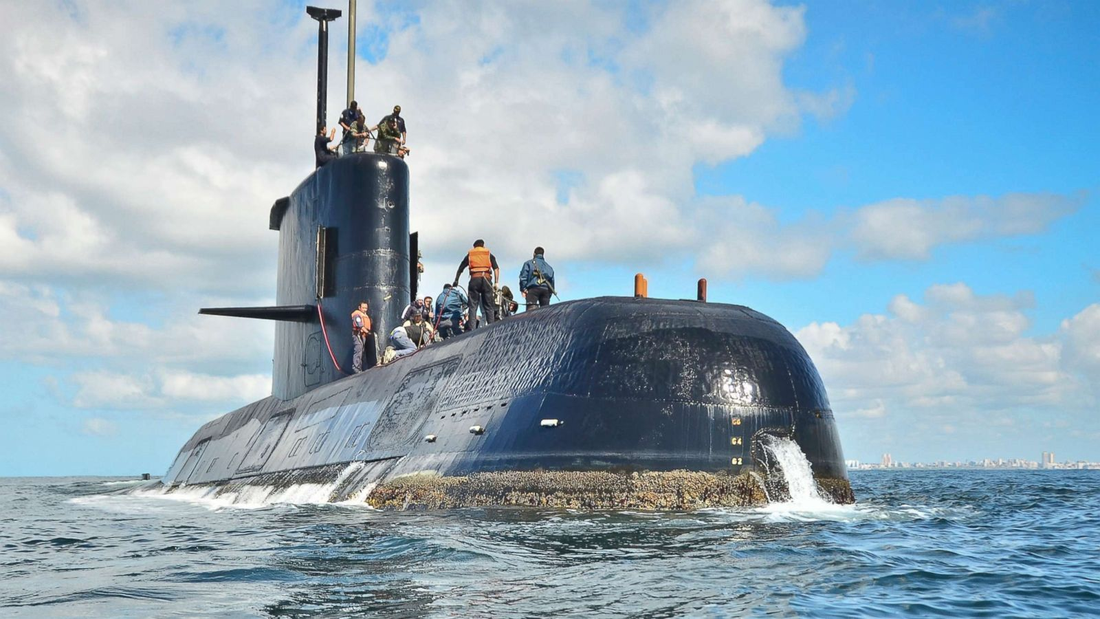 Argentine submarine found on bottom of Atlantic Ocean after