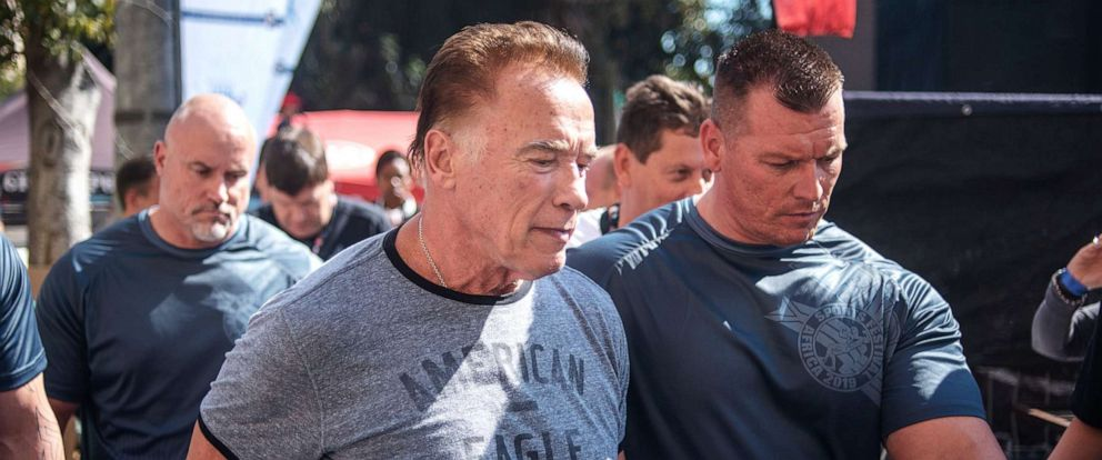 Arnold Schwarzenegger assaulted at South African sports