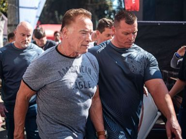 Schwarzenegger assaulted at South African sports event