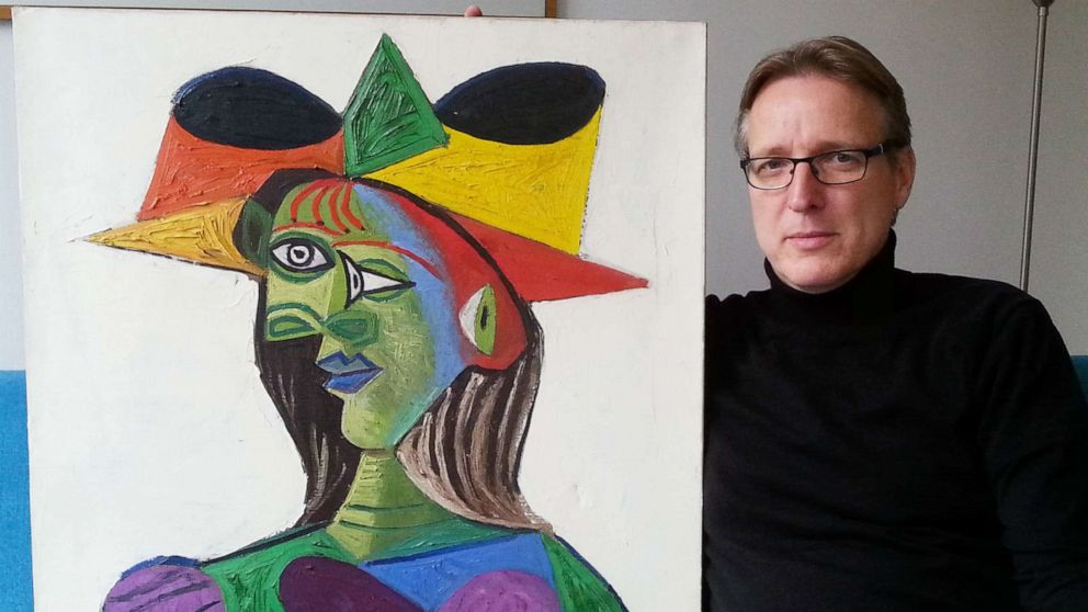 Picasso unearthed by 'Indiana Jones of art'