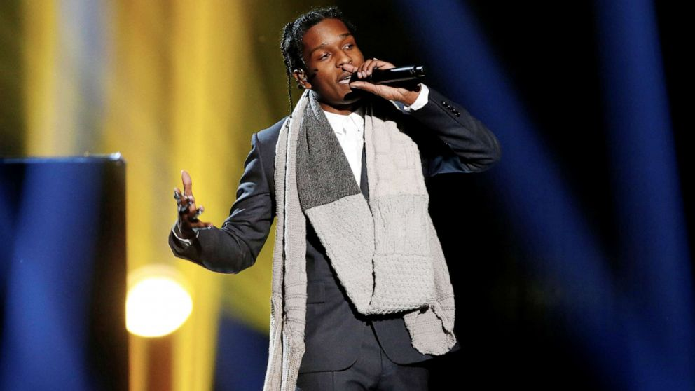 "Trump says he'll ""personally vouch"" for rapper A$AP Rocky thumbnail"