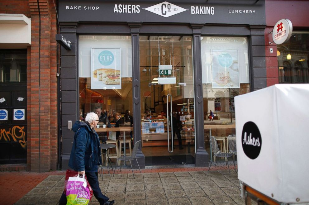 PHOTO: Ashers Baking Company in Belfast, Northern Ireland is pictured in this March 26, 2015 file photo.