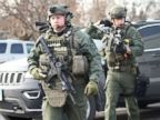 5 victims, shooter dead; 5 officers injured in workplace shooting