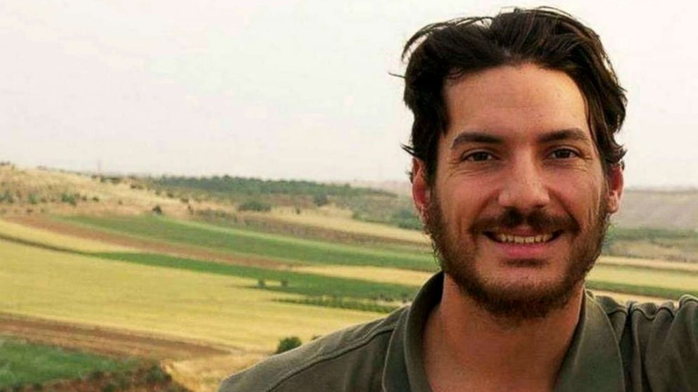 Freelance journalist Austin Tice, seen in this undated photo, went missing in Syria in 2012 and has not been heard from since.