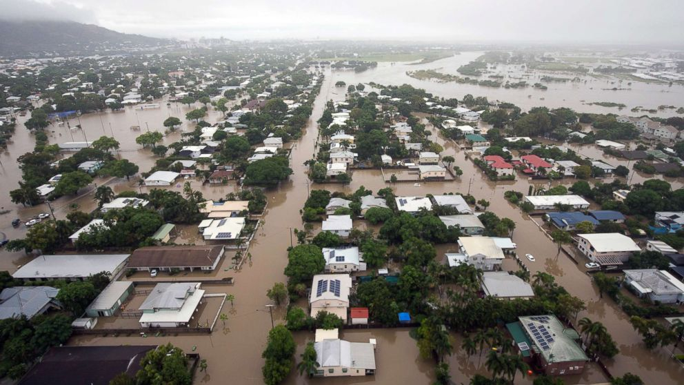 Crocodile Warning Issued As Australian City Faces Unprecedented  An Aerial View Shows Houses Inundated With Flood Waters In Townsville  Queensland Australia Writing Service For Capstone Project also I Want Someone To Do My Assignment  Sample Business Essay