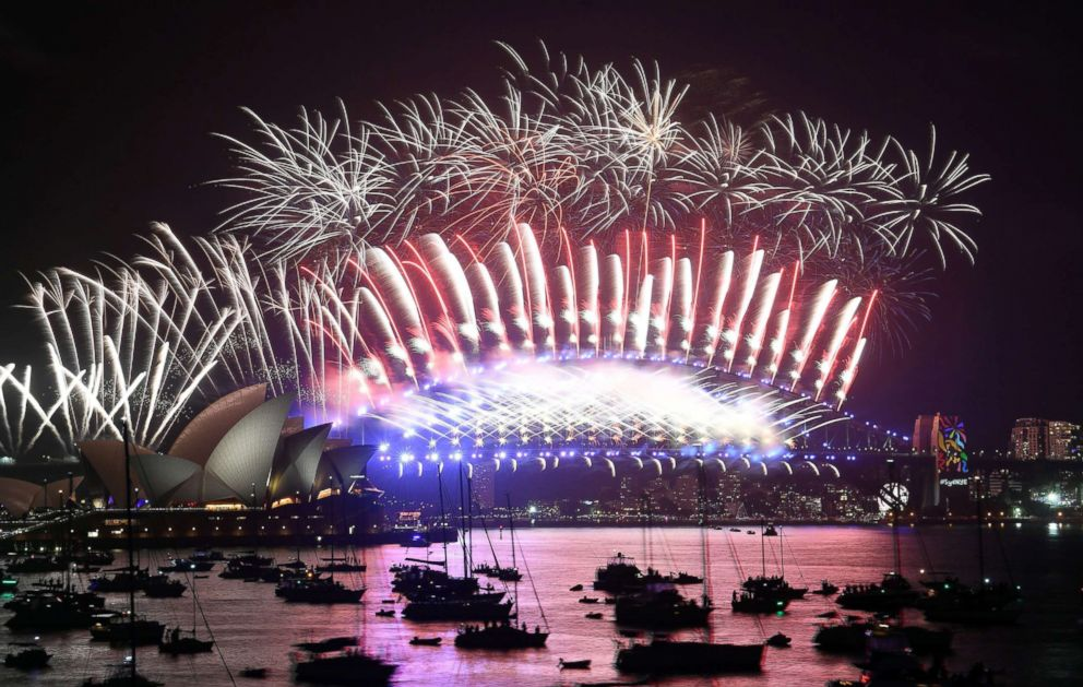 Image result for new year celebration in australia