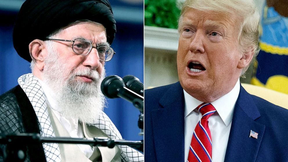 Image result for trump khamenei