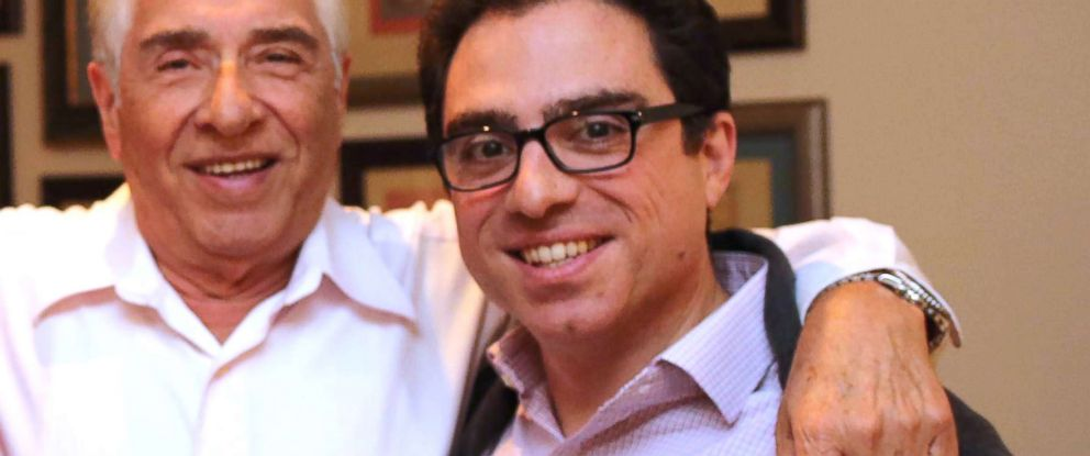 PHOTO: Baquer Namazi, left, and his son Siamak are seen in this undated photo provided by Babak Namazi, who is the brother of Siamak Namazi and son of Baquer Namazi.