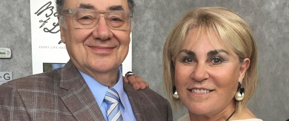 PHOTO: In this Oct. 15, 2017 photo provided by the United Jewish Appeal via Canadian Press, Barry and Honey Sherman pose for a photo in Toronto, Canada.