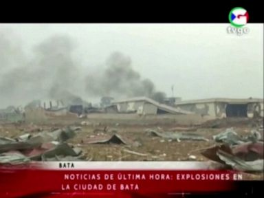 Explosions in Equatorial Guinea kill at least 20, injure hundreds