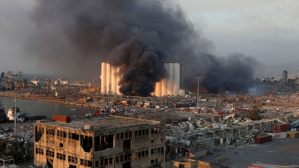 Rescue efforts continue after Beirut explosion