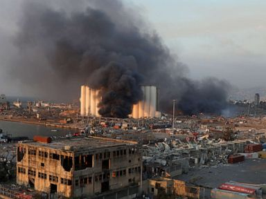 Massive explosion rocks Beirut, at least 50 reported dead