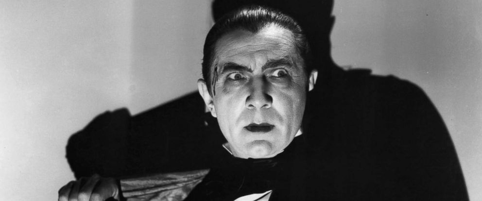 "PHOTO: Bela Lugosi as Count Dracula in a scene from the 1931 film ""Dracula."""