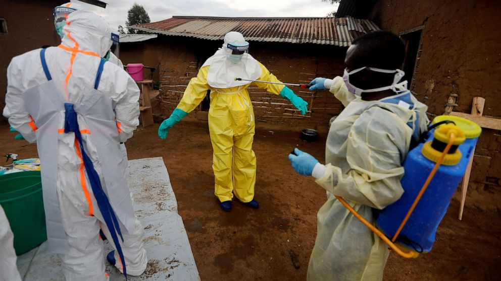 WHO says Congo's Ebola outbreak still qualifies as a global emergency