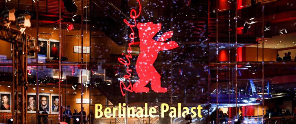 PHOTO: Berlinale Palace entrance during during the 69th annual Berlin Film Festival, Feb. 8, 2019.