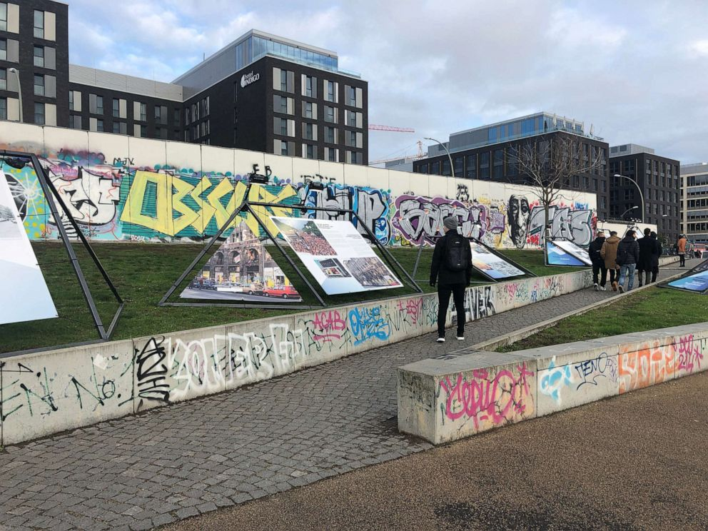PHOTO: The citywide festival includes historical information about the important time in Berlins history at seven key locations, such as the East Side Gallery, pictured here.