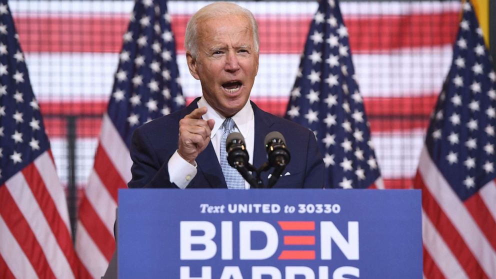 Biden paints Trump as someone who 'sows chaos rather than providing order'  - ABC News