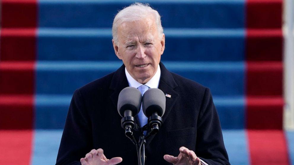 President Joe Biden, VP Kamala Harris sworn into office