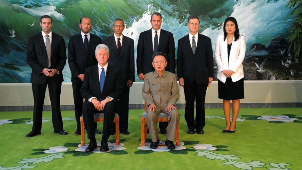 Some Prominent Americans Who Have Met With North Korean Leaders Abc News