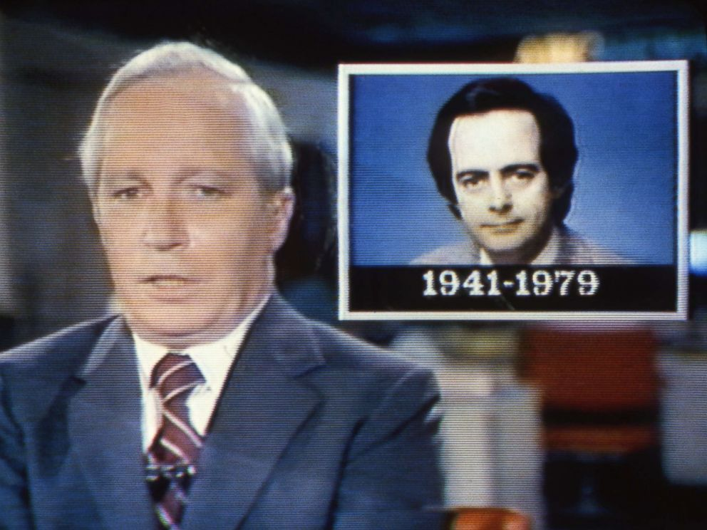 PHOTO: ABC News Frank Reynolds reports on the death of ABC News correspondent Bill Stewart who was killed by a Nicaraguan National Guard soldier on June 20, 1979.