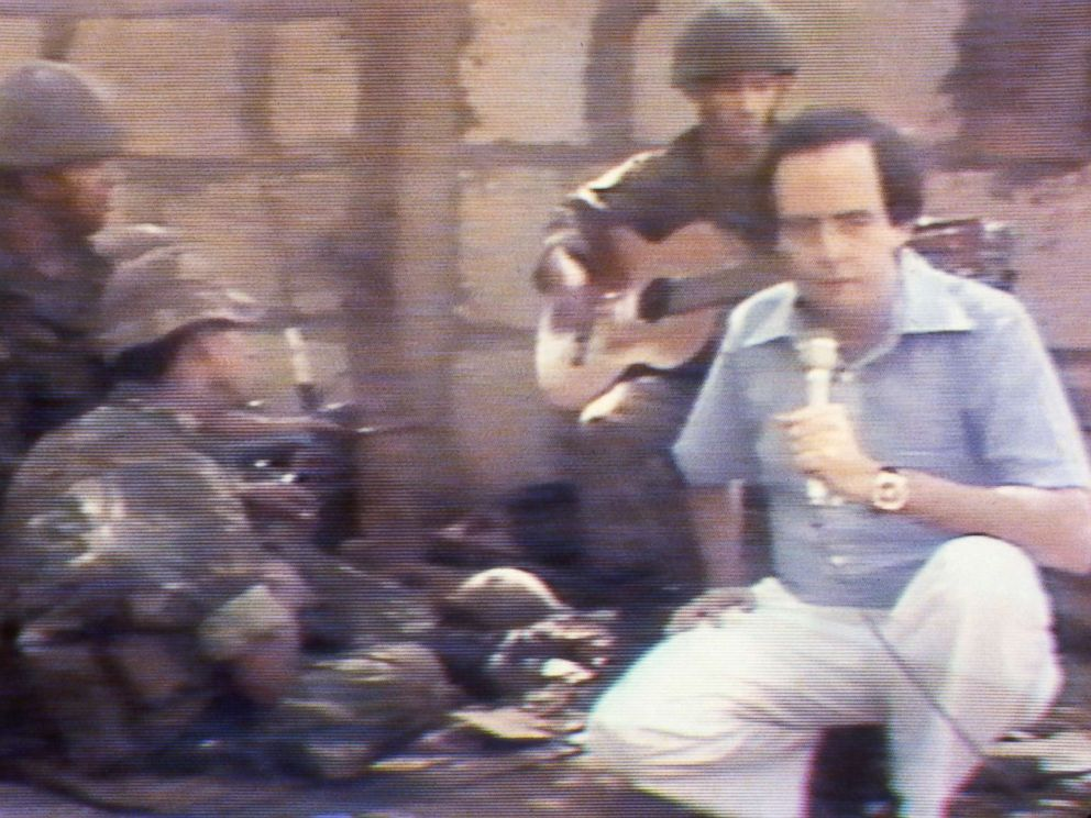 PHOTO: ABC News correspondent Bill Stewart reports from Nicaragua, shortly before he was killed by a Nicaraguan National Guard soldier on June 20, 1979.