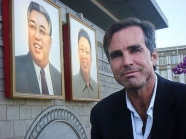 PHOTO: ABCs Bob Woodruff in Pyongyang, North Korea on one of his eight trips to the reclusive country.