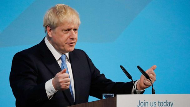 Boris Johnson chosen to replace Theresa May as UK prime minister