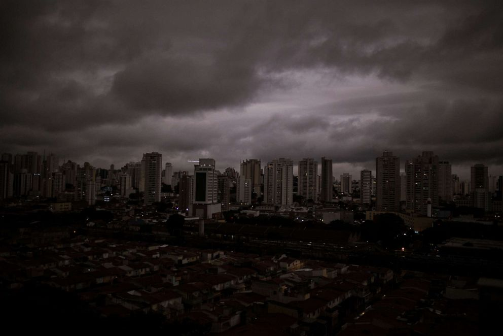 PHOTO: Residents from Sao Paolo have recently reported black rain from fires in the Amazon, Aug. 19, 2019.