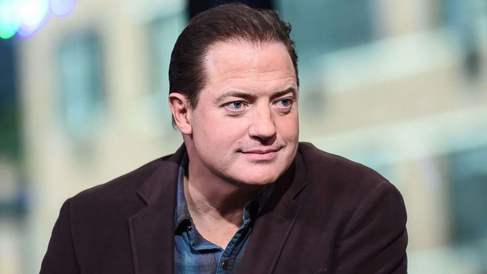 Brendan fraser says he has his own metoo story abc news - Brendan fraser bald ...