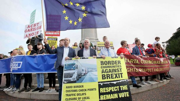 Leaked 'no-deal' Brexit report warns of civil unrest and food supply disruptions