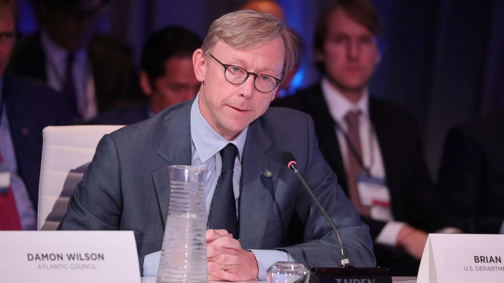 Brian Hook, Director of Policy Planning, U.S. Department of State, speaks at The 2017 Concordia Annual Summit at Grand Hyatt New York, Sept. 19, 2017, in New York City.