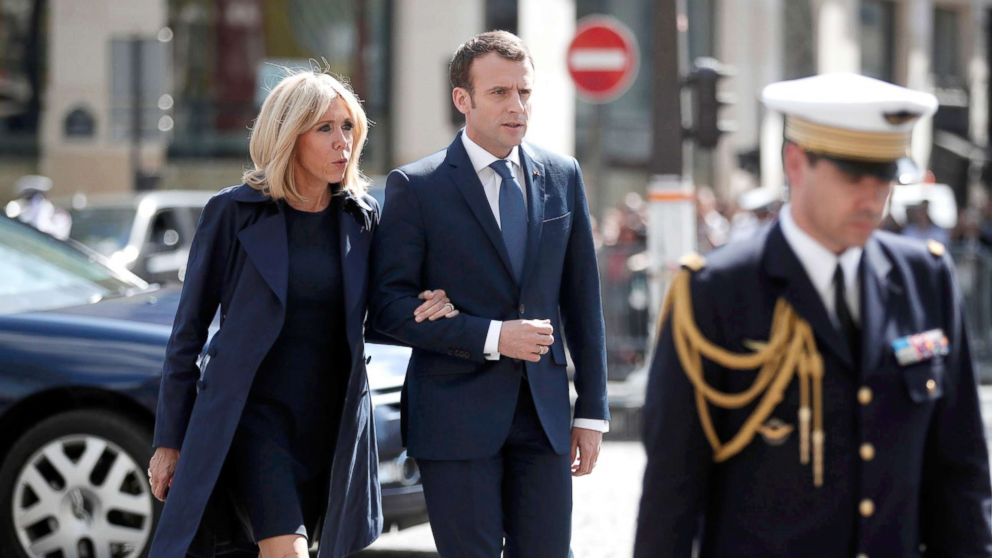brigitte macron france 39 s first lady is her husband 39 s 39 equilibrium 39 abc news. Black Bedroom Furniture Sets. Home Design Ideas
