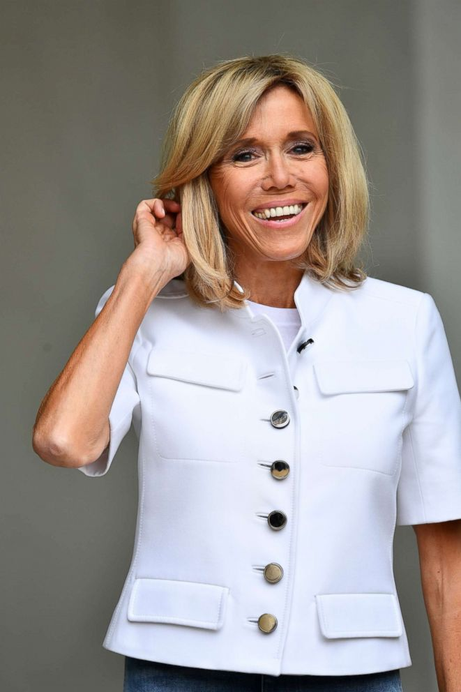 Brigitte Macron France S First Lady Is Her Husband S Equilibrium Abc News