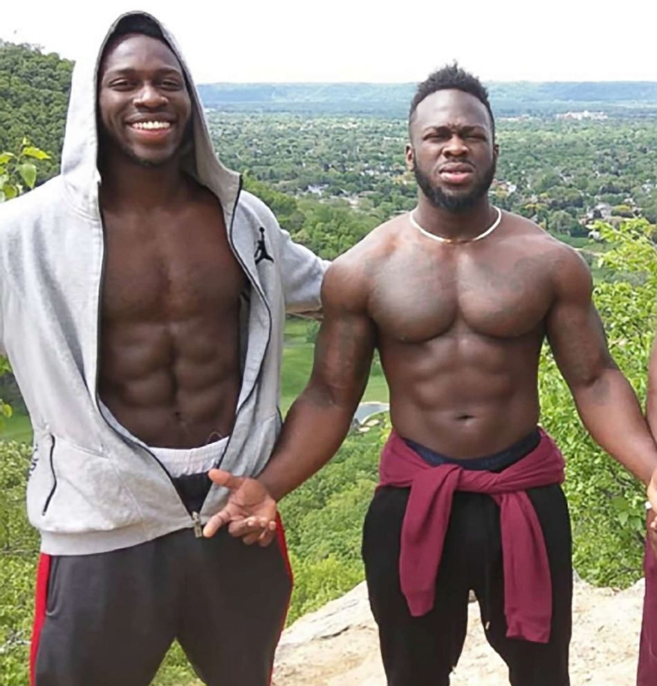 PHOTO: Abimbola (left) and Olabinjo Osundairo are believed to have purchased the rope found around Jussie Smolletts neck.