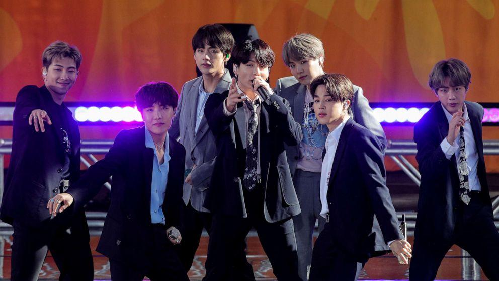 K-pop locomotive BTS announces break from performing - ABC News