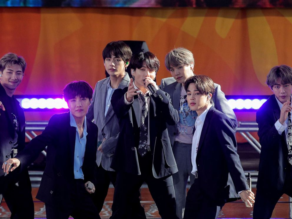 K-pop locomotive BTS announces break from performing - ABC News