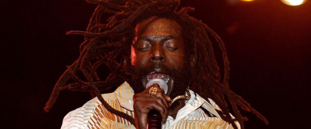 PHOTO: Buju Banton performs at Randalls Island in New York, 2005.