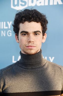 PHOTO: Cameron Boyce arrives at an event on April 25, 2019, in West Hollywood, Calif.