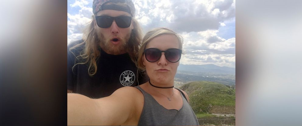 PHOTO:In this undated photo provided by the Deese family of Chynna Deese, 23-year-old Australian Lucas Fowler, left, and 24-year-old American girlfriend Chynna Deese poses for a selfie.