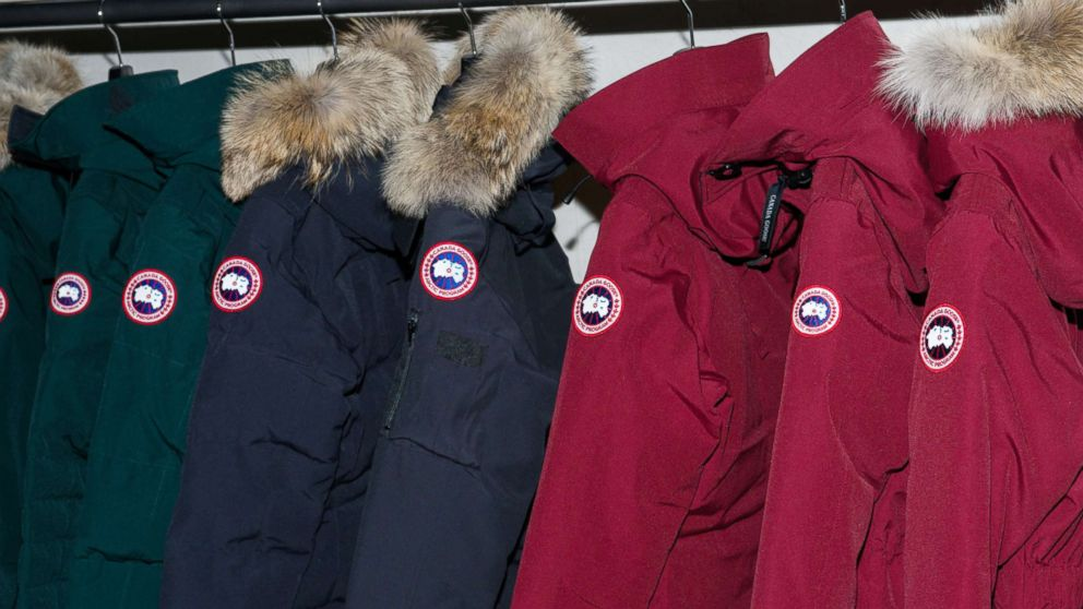 A view inside Canada Goose's U.S. flagship store, Nov. 16, 2016, in New York.