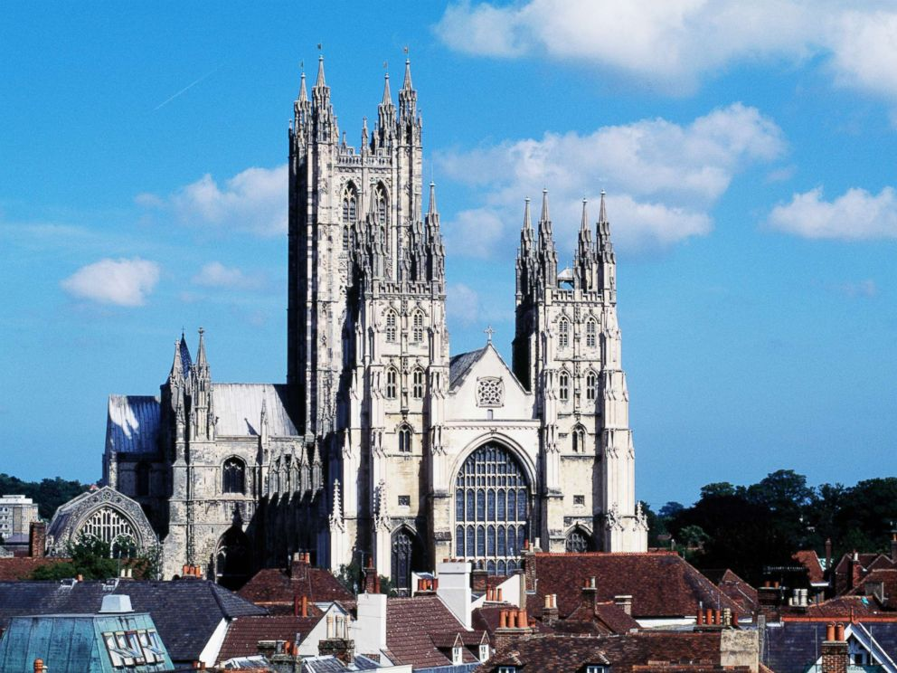 PHOTO: Canterbury cathedral in England is pictured.