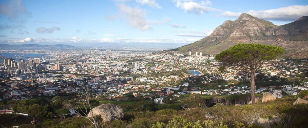 PHOTO: A view of Cape Town pictured on April 28, 2013, in South Africa.