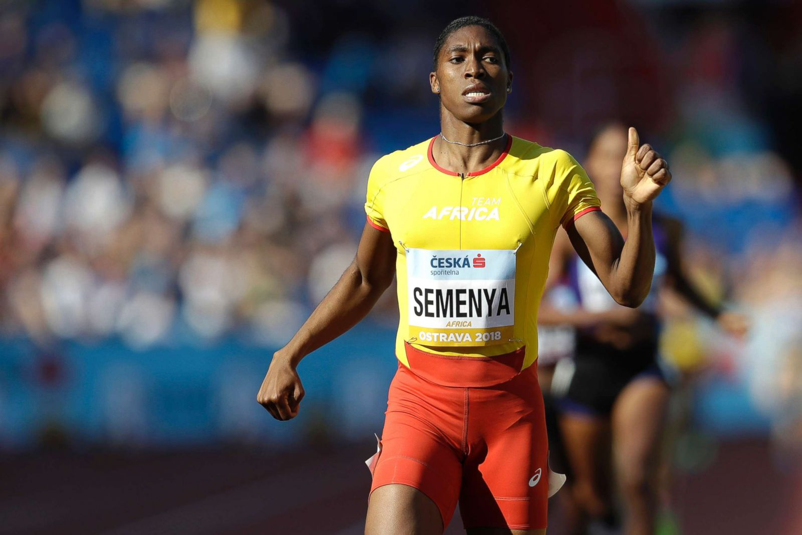 cee2249d67a48 Female track star Caster Semenya in court to challenge gender ruling in  landmark case on testosterone levels - ABC News