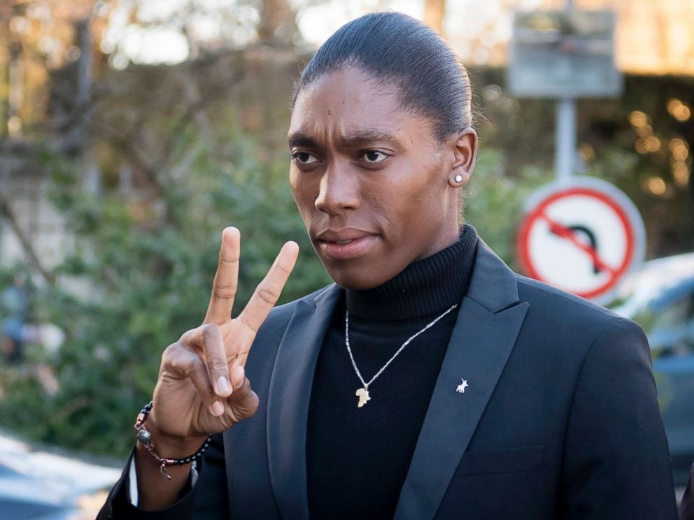 329ead78d4391 Female track star Caster Semenya in court to challenge gender ruling in  landmark case on testosterone levels
