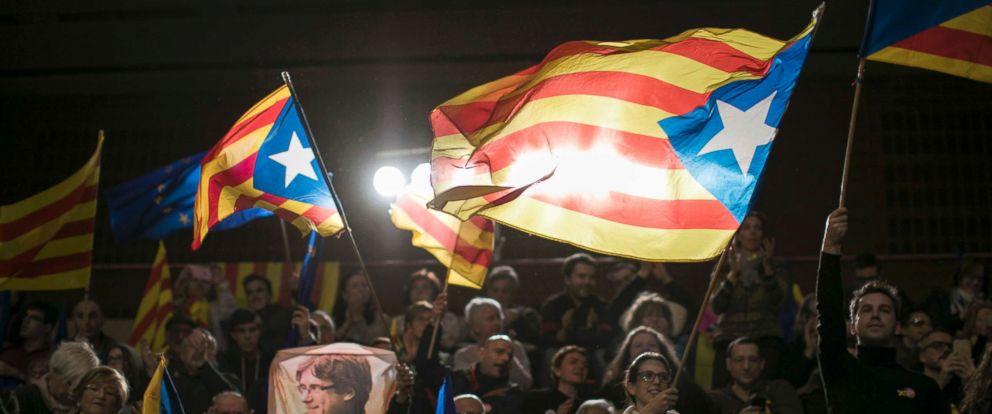 Resultado de imagen de independence victory in catalonia