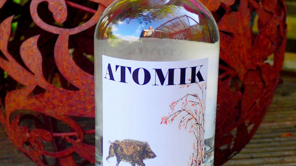 Ukraine seized Chernobyl vodka. The scientists who made it want it back