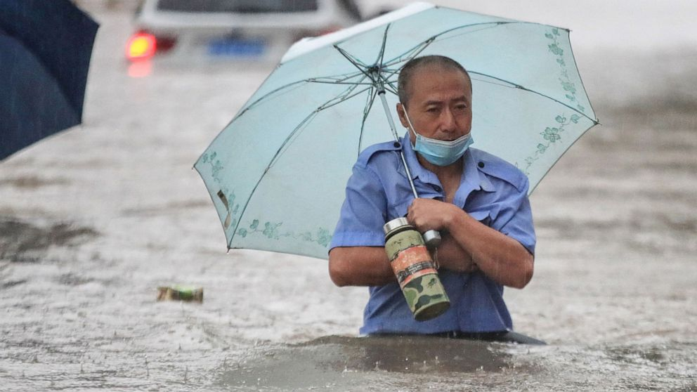 At least 25 dead after flash flooding in China causes year's worth of rain in 3 days